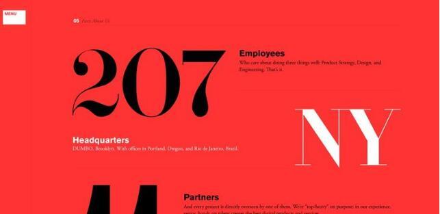 Work&Co欣赏一组创意网页设计排版案例